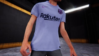 Nike Barcelona 2021/22 Away shirt # 10 Messi