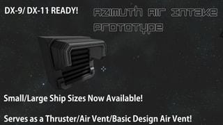 AZ Air Intake Prototype