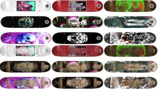 Board SKELETON NEW and USED 18 Decks
