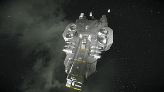 Small miner ship