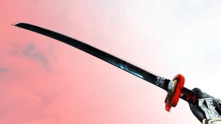TANJIRO KAMADO BLACK NICHIRIN SWORD [DEMON SLAYER]