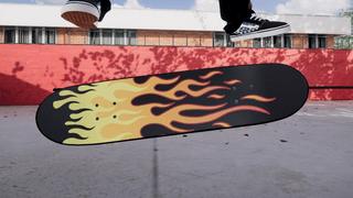 Fruity Skateboard Grip Tape - Flames
