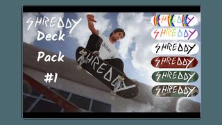 SHREDDY MAG DECK PACK #1