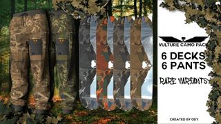 Vulture Skate Co. Camo Collection