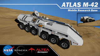 Atlas M-42 Mobile Research Base