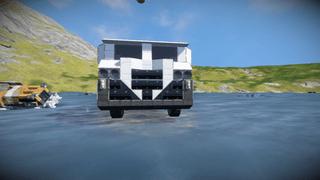 Light medical truck