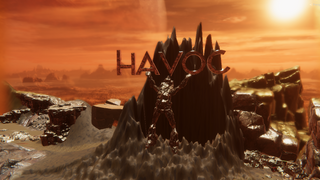 Havoc Mountain fantasy terrain map