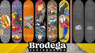Brodega Skateboards / Decks