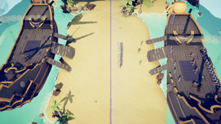 assault on treasure island