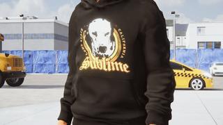 (M) Sublime Lou Dog Hoodie