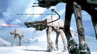 AT-AT Heavy Laser Cannon Sounds