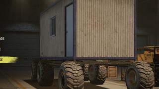 6x6 Cargo Cabin Truck