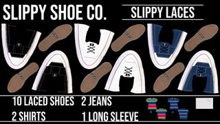 SLIPPY SHOE CO. LACES COLLECTION