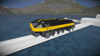 Train engine T1