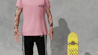 Skate energia Pink