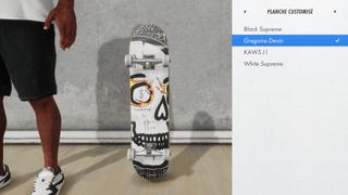 Gregoire Devin's SkateBoard