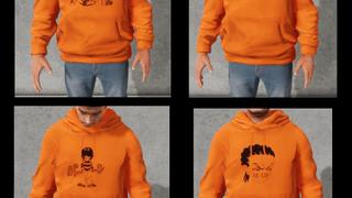 RE-UP Orange Hoodie Pack 1