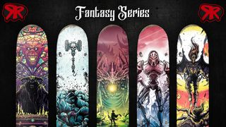 Red Rum Skateboard - Fantasy Mini Series