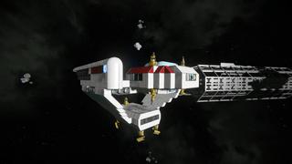 Star Trek - Jester Light Corvette