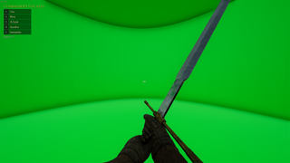 Greenscreen map