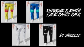 Supreme X NorthFace Pants Pack