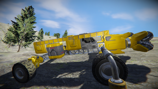 Mining rover v1