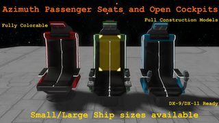 Azimuth Passenger Seat & Open *******