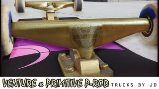 Venture x Primitive PRod trucks