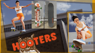 Hooters Skin and Deck