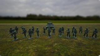 WWII German Army Miniatures