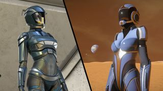 "Female Armor ""Tungsten"""