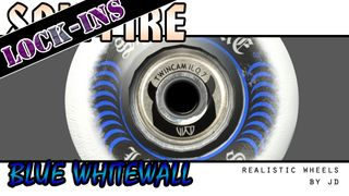 "Spitfire ""Lock-Ins"" Blue (whitewall)"
