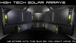 High Tech Solar Arrays