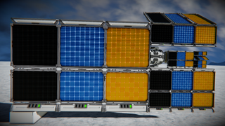 -KING's- Solar Panels (Compact) only 1 PCU