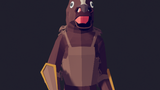 The wobbly horse god (for captainsauce.)