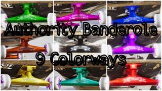 Authority Truckz Banderole 9 Colors