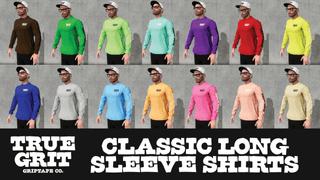 True Grit - Classic Long Sleeves