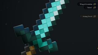 Minecraft Diamond Sword (Local Mod)
