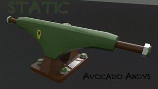 Static Avocado Andy Pro Model Trucks