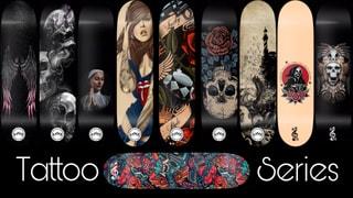 Rhythmic Skateboards Tattoo Series 2