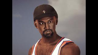 Kanye West Facescan