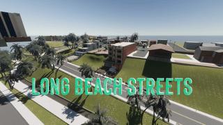 Long Beach Streets Map