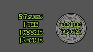 Reaper Trucks Ninja Reaper Drop