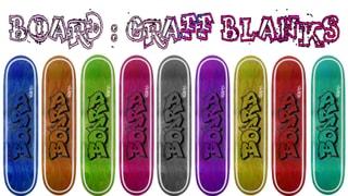 Board Decks Graff Blanks 9 Colors