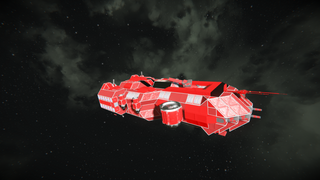 FEDF Heavy Strike Corvette (Modded)