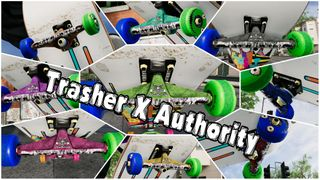 USED Authority X Thrasher Trucks 9 Colors