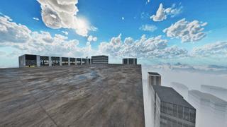 Cloud City Rooftops - Empty By GURU