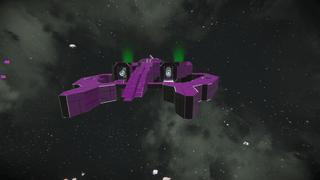 halo Covenant battle ship