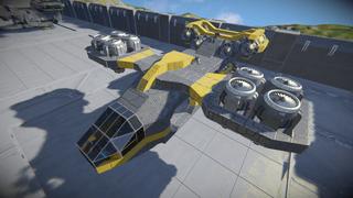 GreenCorp. Hawk Cargo Vtol