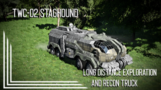 TWA-02 Staghound Exploration and Recon Truck